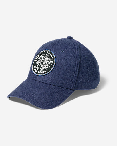 Wool Blend Graphic Cap by Eddie Bauer
