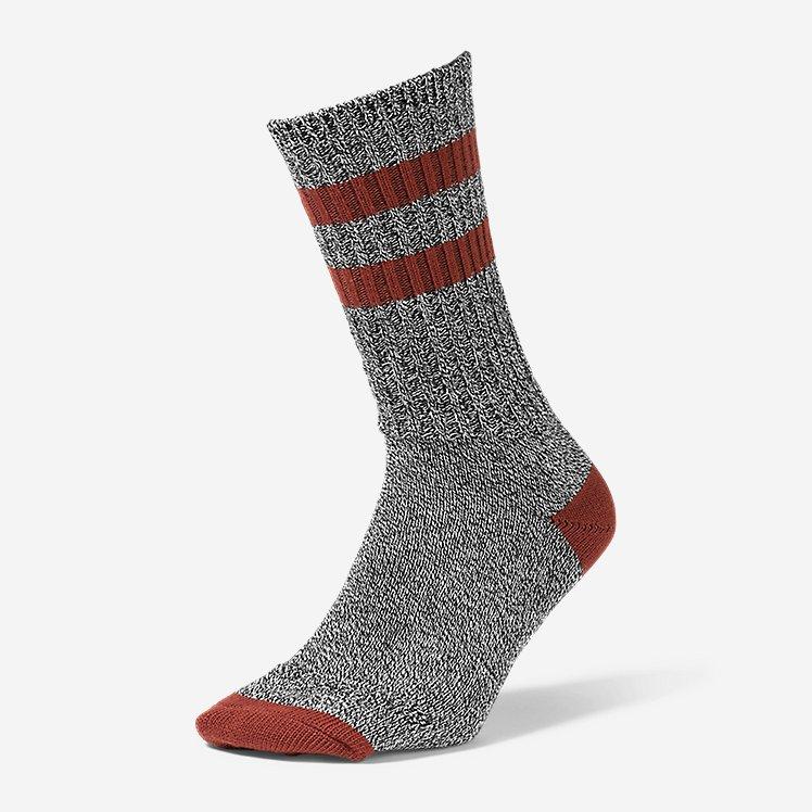 Men's Cotton-Blend Ragg Crew Socks large version