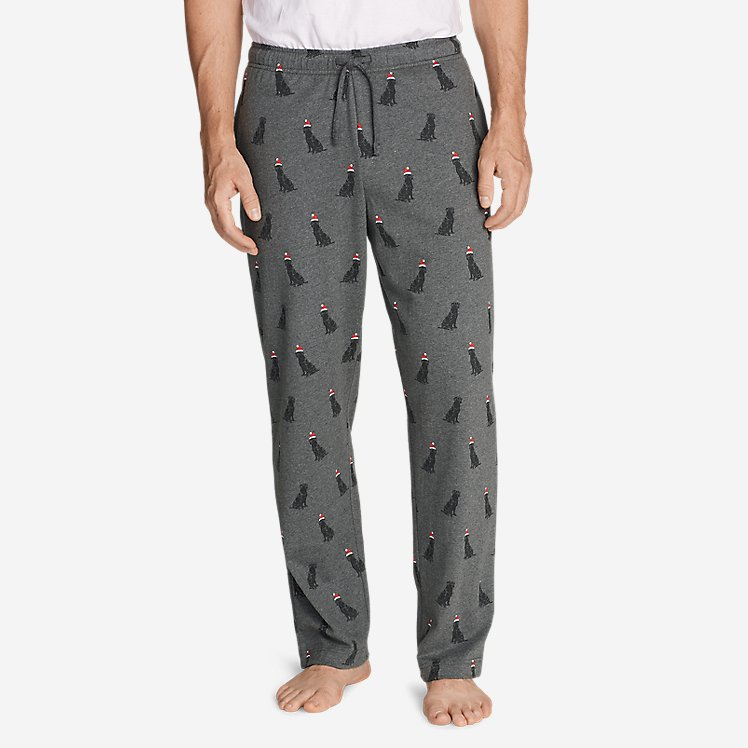 Men's Legend Wash Jersey Sleep Pants - Print large version