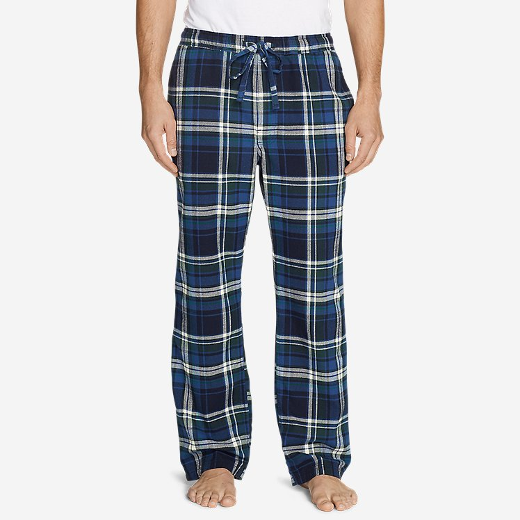 Men's Flannel Sleep Pants large version