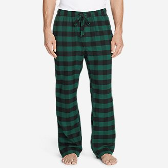 Thumbnail View 1 - Men's Flannel Sleep Pants