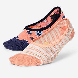 Thumbnail View 1 - Women's Super No-Show Liner Socks - 2-Pack