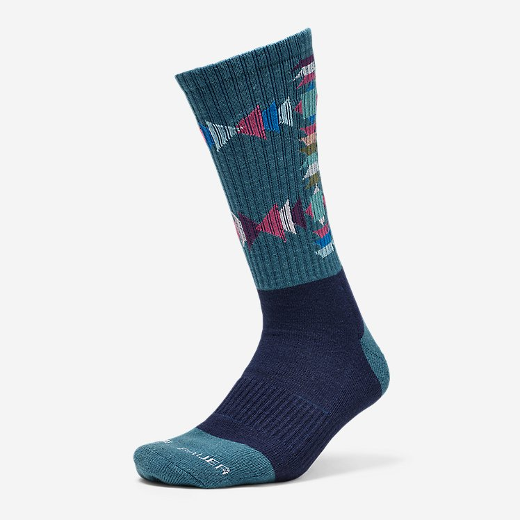 Women's Trail COOLMAX® Crew Socks - Pattern large version