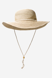 Women's Fairview Packable Straw Hat