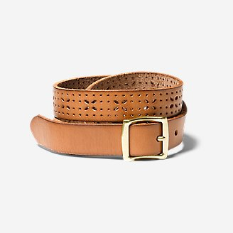 Thumbnail View 1 - Women's Elysian Leather Belt
