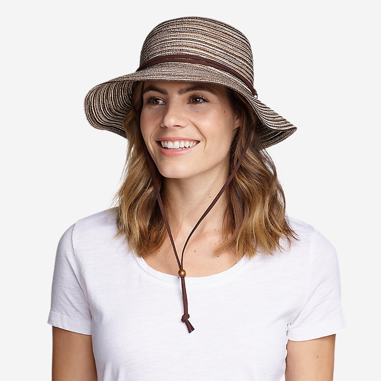 6b989e5b2 Women's Packable Straw Hat - Wide Brim | Eddie Bauer