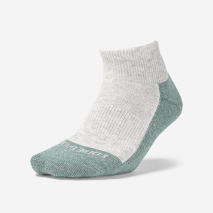 Women's COOLMAX® Trail Quarter Crew Socks large version