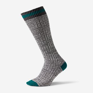 Thumbnail View 1 - Women's Cotton-Blend Ragg Boot Socks