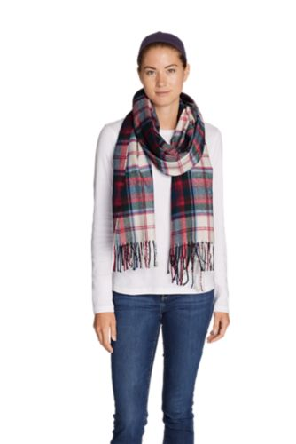 Women's Stine's Favorite Flannel Woven Scarf