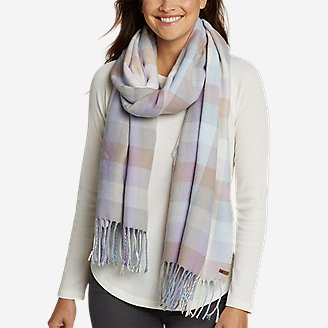 Stine's Favorite Flannel Woven Scarf by Eddie Bauer