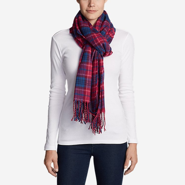 Women's Stine's Favorite Flannel Woven Scarf large version