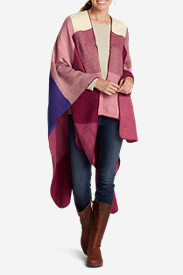 Women's Vesper Plaid Blanket Wrap