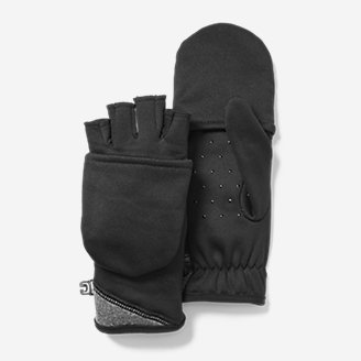 Thumbnail View 1 - Women's Crossover Fleece Convertible Gloves