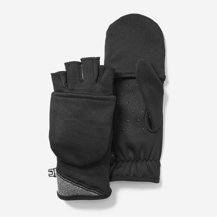 Women's Crossover Fleece Convertible Gloves large version