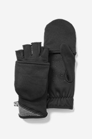 Women's Crossover Fleece Convertible Gloves