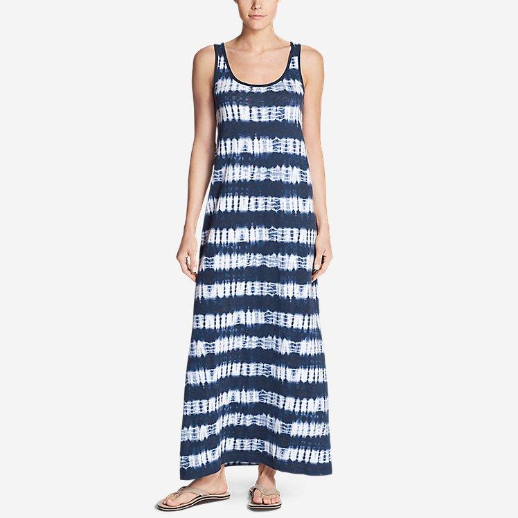 Women's Ravenna Maxi Dress - Stripe large version