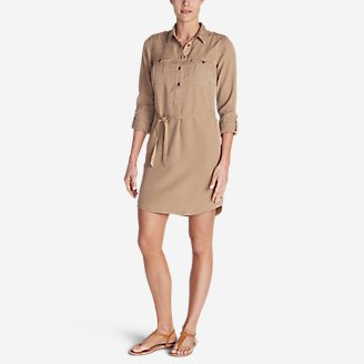 Thumbnail View 1 - Women's Tranquil Shirt Dress - Solid