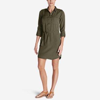 Thumbnail View 1 - Women's Tranquil Shirt Dress - Solid