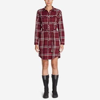 Thumbnail View 1 - Women's Stine's Favorite Flannel Shirt Dress