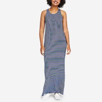 Thumbnail View 1 - Women's Soft Layer Twist-Back Sleeveless Maxi Dress