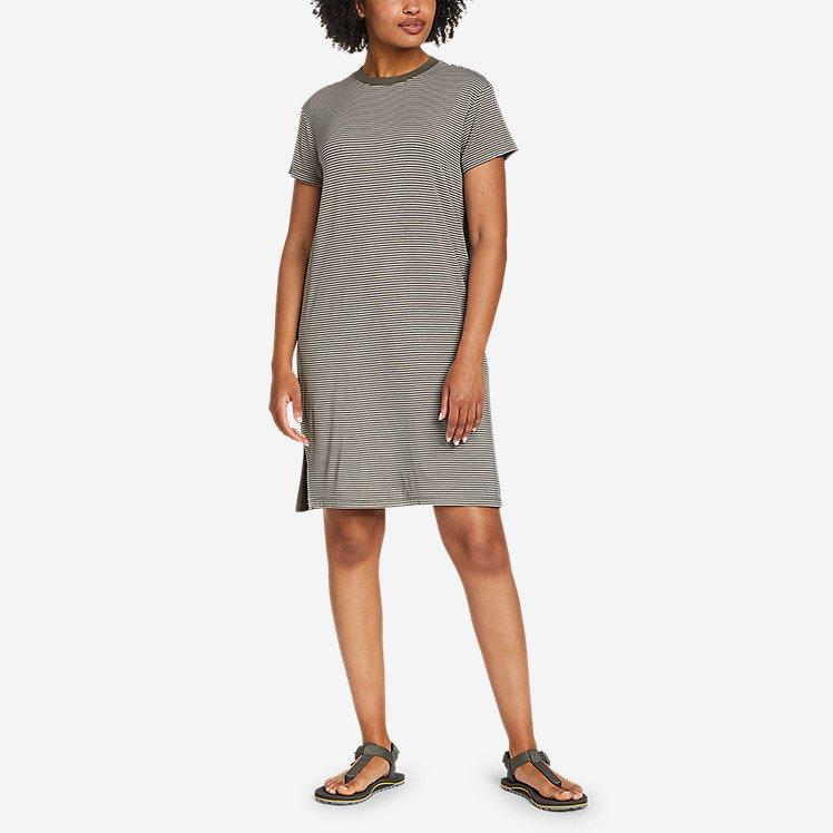 Women's Soft Layer Short-Sleeve T-Shirt Dress large version