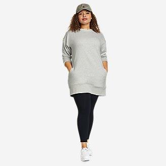Thumbnail View 1 - Women's Cozy Camp Sweatshirt Dress