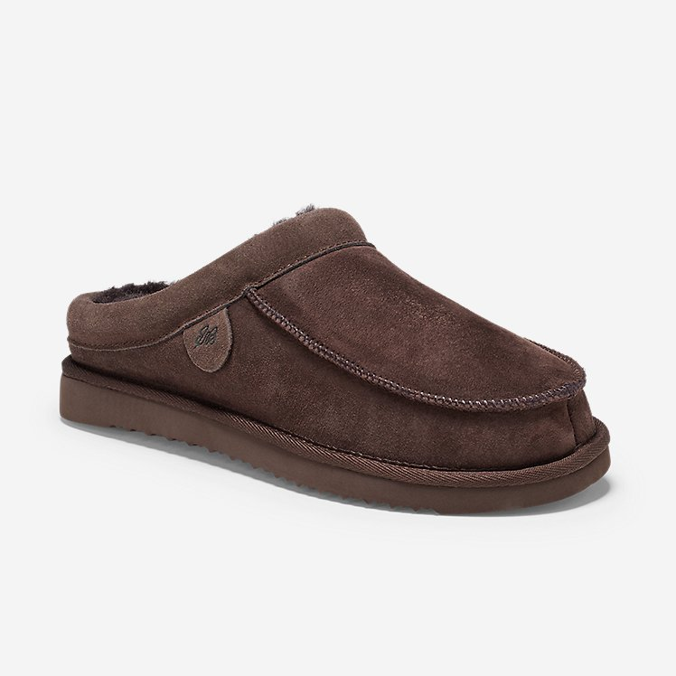 Men's Firelight Shearling Moc Scuff large version