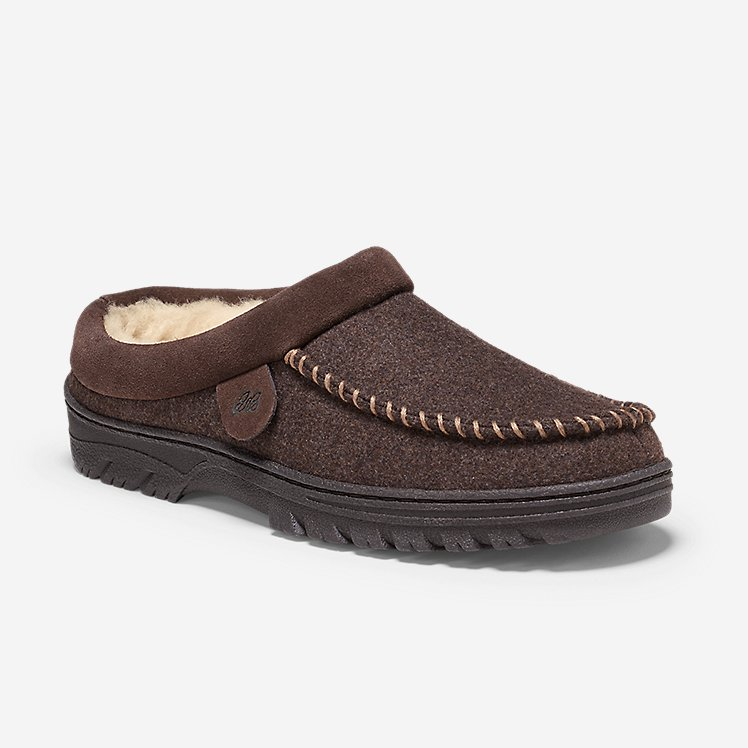 Men's Firelight Shearling-Lined Clog large version