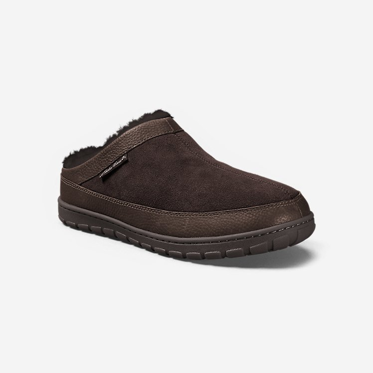 Men's Shearling Scuff Slipper large version