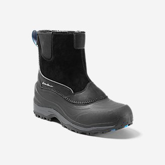 Thumbnail View 1 - Men's Eddie Bauer Snowfoil Pull-On Boot