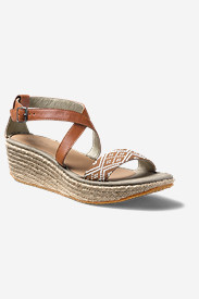 Women's Eddie Bauer Kara Canvas Wedge