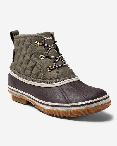 Women's Hunt Pac Mid Boot   Fabric by Eddie Bauer
