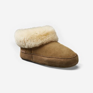 Thumbnail View 1 - Women's Shearling Boot Slipper