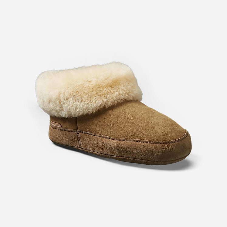 Women's Shearling Boot Slipper large version