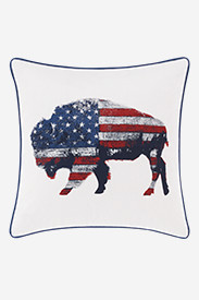 Bison American Pillow