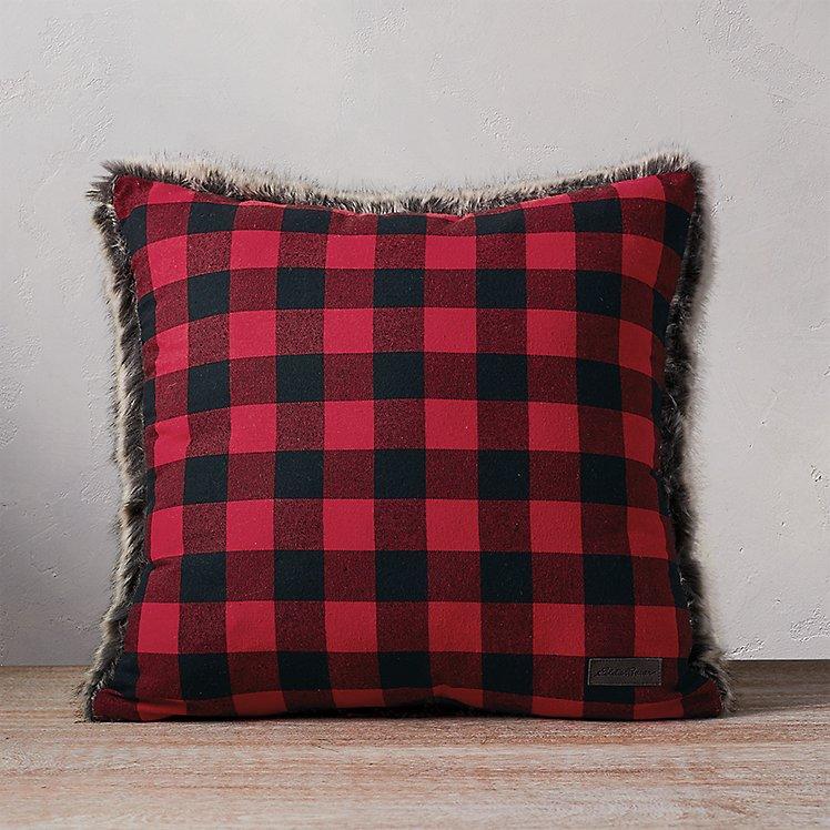Lodge Faux Fur Pillow large version