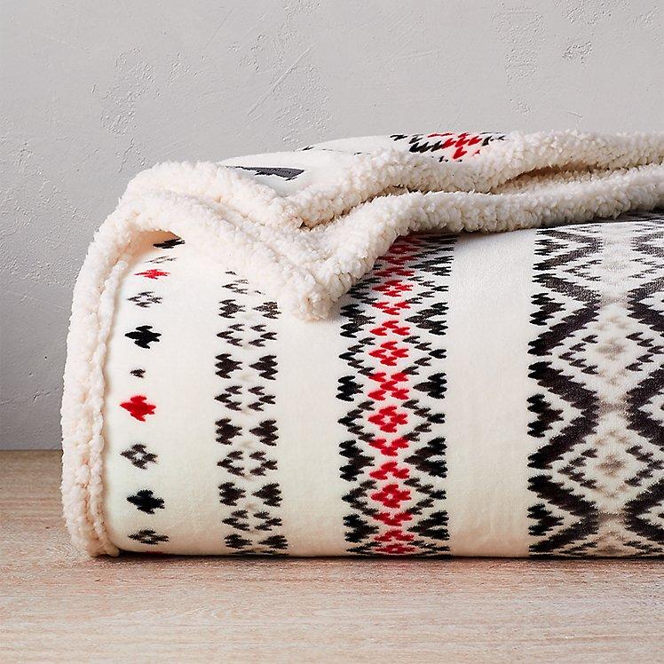 Cabin Fleece Blanket large version