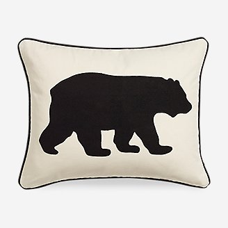 Thumbnail View 1 - Bear Black Breakfast Pillow