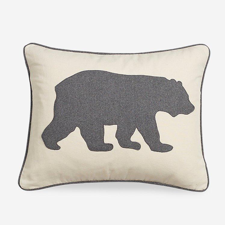 Bear Charcoal Breakfast Pillow large version