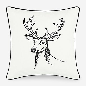 Thumbnail View 1 - Winter Morning Stag Pillow