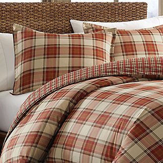 Thumbnail View 1 - Edgewood Duvet/Sham Set - Plaid