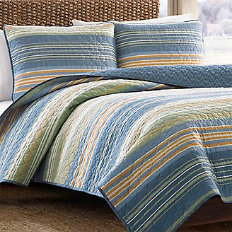 Thumbnail View 1 - Yakima Valley Quilt/Sham Set - Stripe