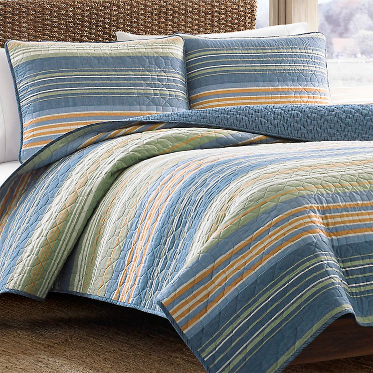 Yakima Valley Quilt/Sham Set - Stripe large version