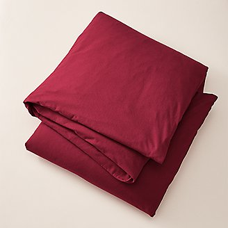 Thumbnail View 1 - Flannel Duvet Cover - Solid