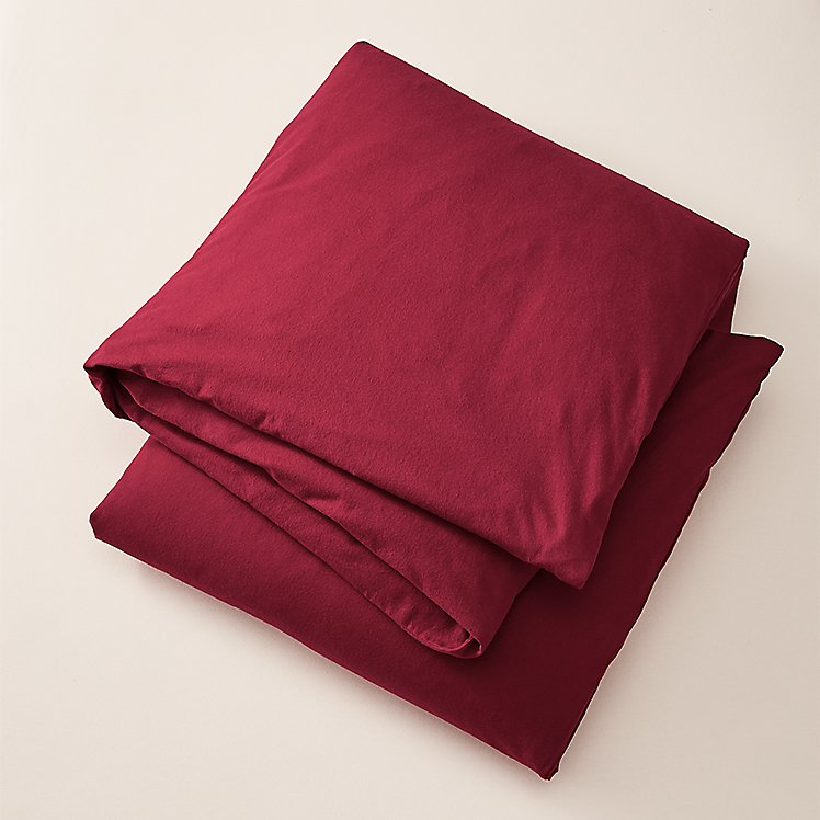 Flannel Duvet Cover - Solid large version
