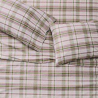 Thumbnail View 1 - Portuguese Flannel Sheet Set - Plaids & Heathers