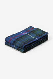 Flannel Pillowcase Set - Pattern
