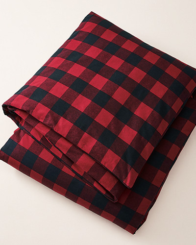 Flannel Duvet Cover   Pattern by Eddie Bauer