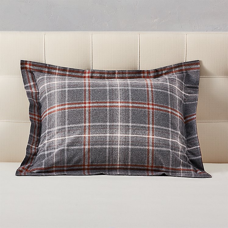 Flannel Pillow Sham - Pattern large version
