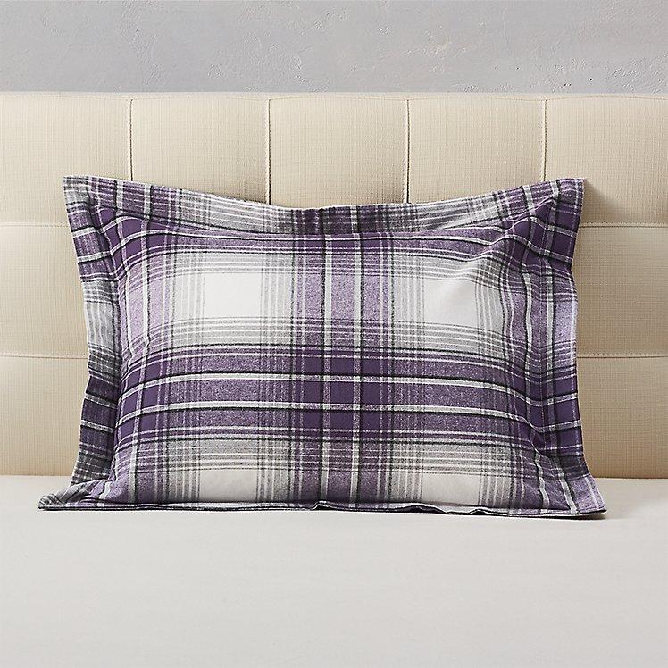 Flannel Pillow Sham - Pattern large version